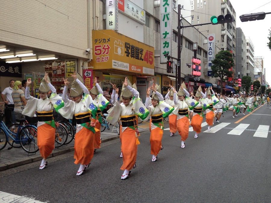 Awaodori Dance  by Max Shandy|マック - News & Events Entertainment ( *japan*awaodori*dance*culture*festival*parade )