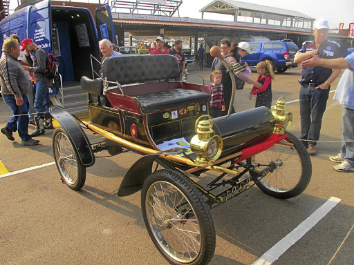 This immaculate 1902 Oldsmobile is one of the oldest cars in South Africa. Picture: ROGER HOUGHTON