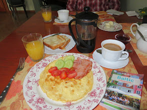 Photo: Our breakfast at the K&G came with the room, and only 40 euros/night