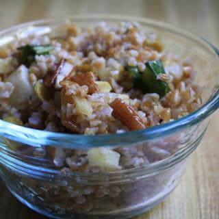 Bulgur Salsify Salad