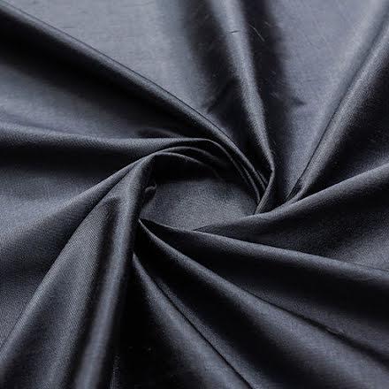 Sidentaft, grå/svart
