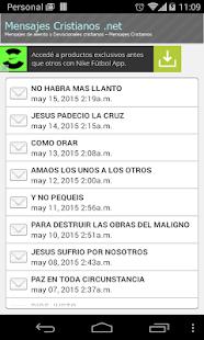 Mensajes Cristianos - screenshot thumbnail