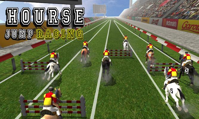 Hourse Jump Racing - screenshot