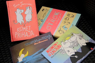 Photo: Četverico knjižnih dogodiščin muminov najdete v Hiši sanjajočih knjig.