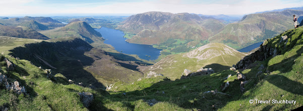 Photo: Crummock Water from Red Pike, Lake District