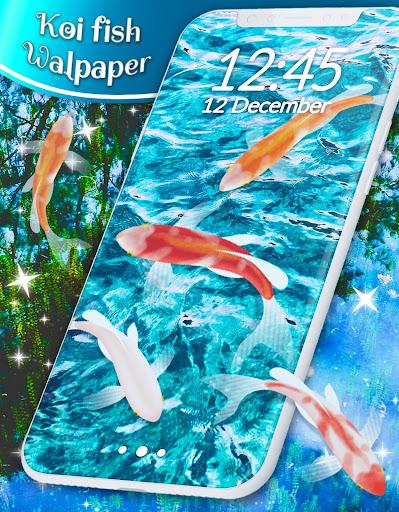 Koi Fish HD Live Wallpaper 4.8.4 screenshots 5