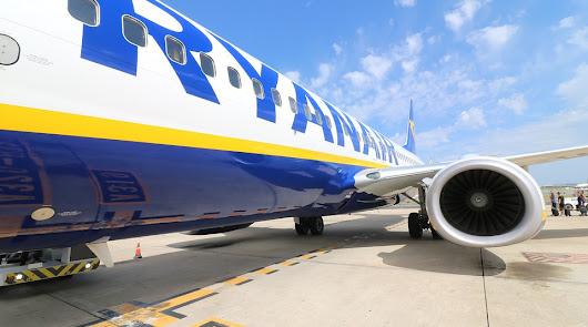 Ryanair cancelará 50 vuelos diarios hasta noviembre