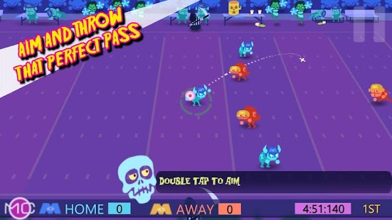 Monday Night Monsters Football Screenshot 2