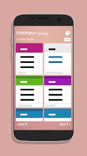 themeGalaxy - Theme Maker for Samsung Galaxy - náhled