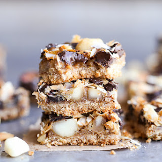 Dark Chocolate Macadamia Nut Magic Bars