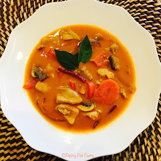 Panang Curry Chicken - Instant Pot Pressure Cooker.