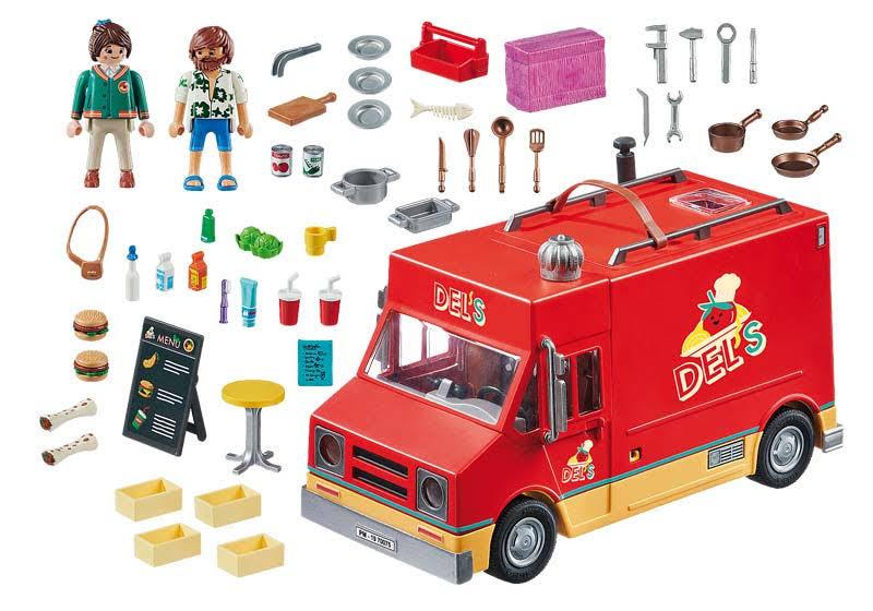 Contenido de Playmobil® 70075  Food Truck Del