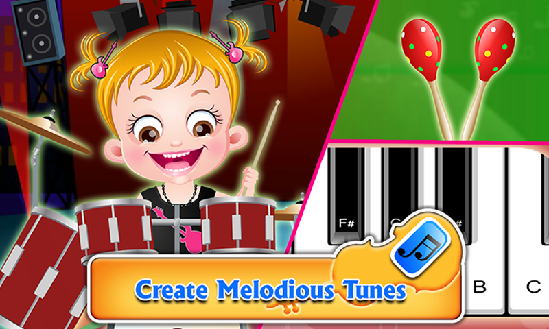 Baby Hazel Musical Melody- screenshot