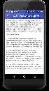 IPO Information
