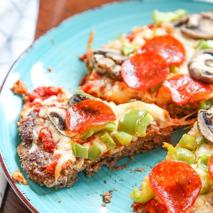 Meatloaf Pizza aka Meatza