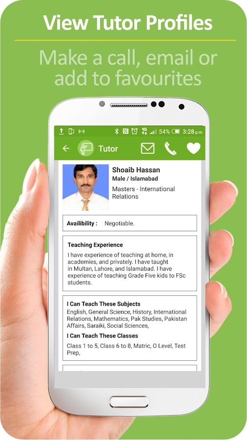 Tutor - Home Tutors Pakistan- screenshot