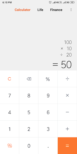 Mi Calculator 10.1.3 screenshots 1