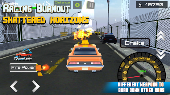 RACING BURNOUT SHATTERED HORIZONS - náhled