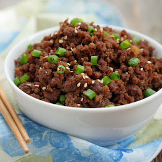 Instant Pot Ground Beef Bulgogi Recipe