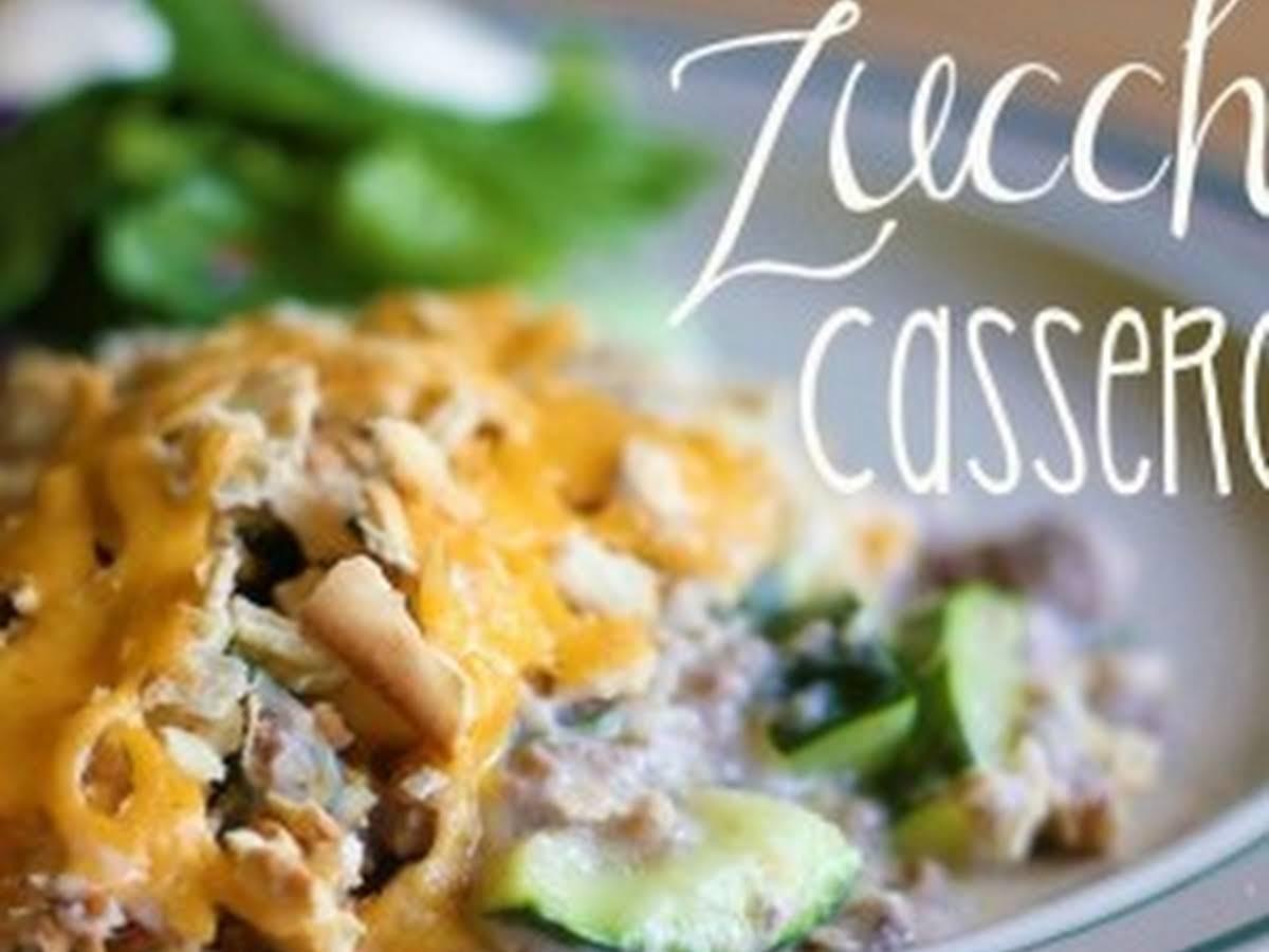 Casser Un Bar De Cuisine zucchini casserole