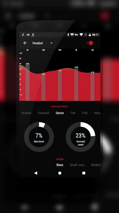 PitchBlack | DarkRed CM13/12- screenshot