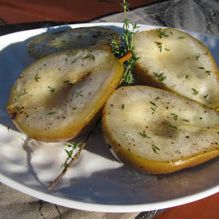 Thyme Roasted Pears.