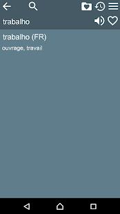 French Braz.Portuguese Dict- screenshot thumbnail