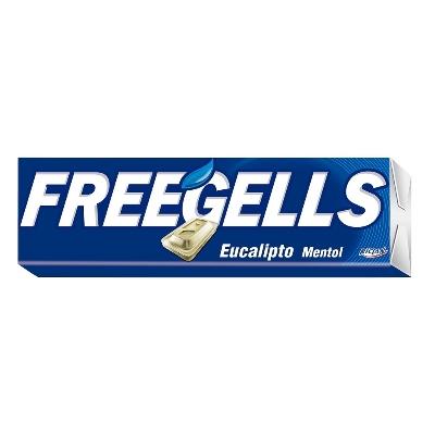 caramelos freegells eucalipto 31.7gr