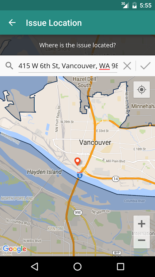 MyVancouver- screenshot