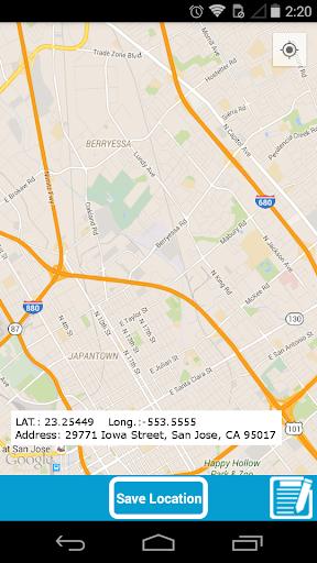 My Locations. 위치 기록기