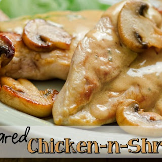 Pan-Seared Chicken with Mushrooms