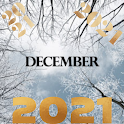 December wallpaper 4k icon