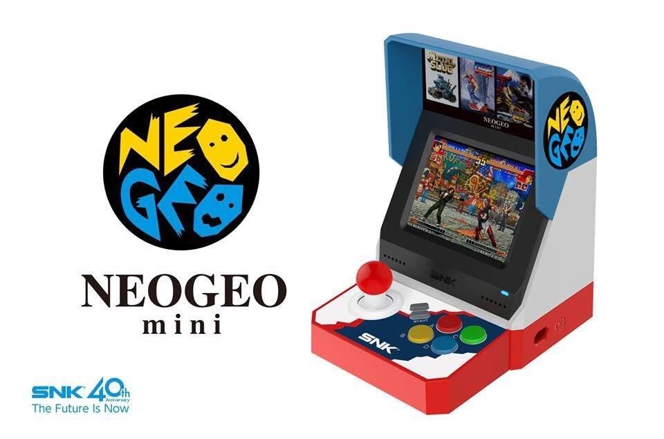 เปิดเผยรายละเอียด Neo Geo Mini พร้อมรายชื่อเกมที่แถมมาให้อย่างจุใจมากถึง 40 เกม!