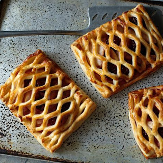 Blackberry And Apple Pastries.
