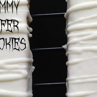 Mummy Wafer Cookies