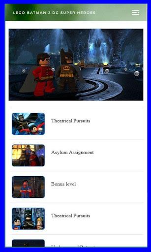 Best Guide for Lego Batman 2