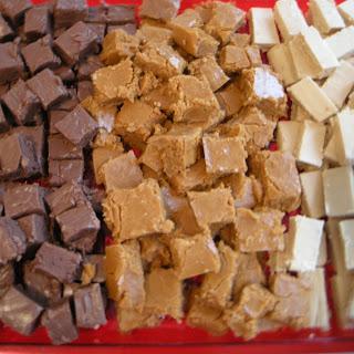 Cinnabun, Chocolate, or Peanut Butter Fudge! Recipe