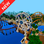 Amusement Park map for MCPE
