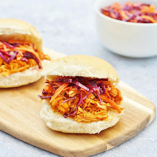Slow Cooker BBQ Chicken Sliders and Crock-Pot Review.