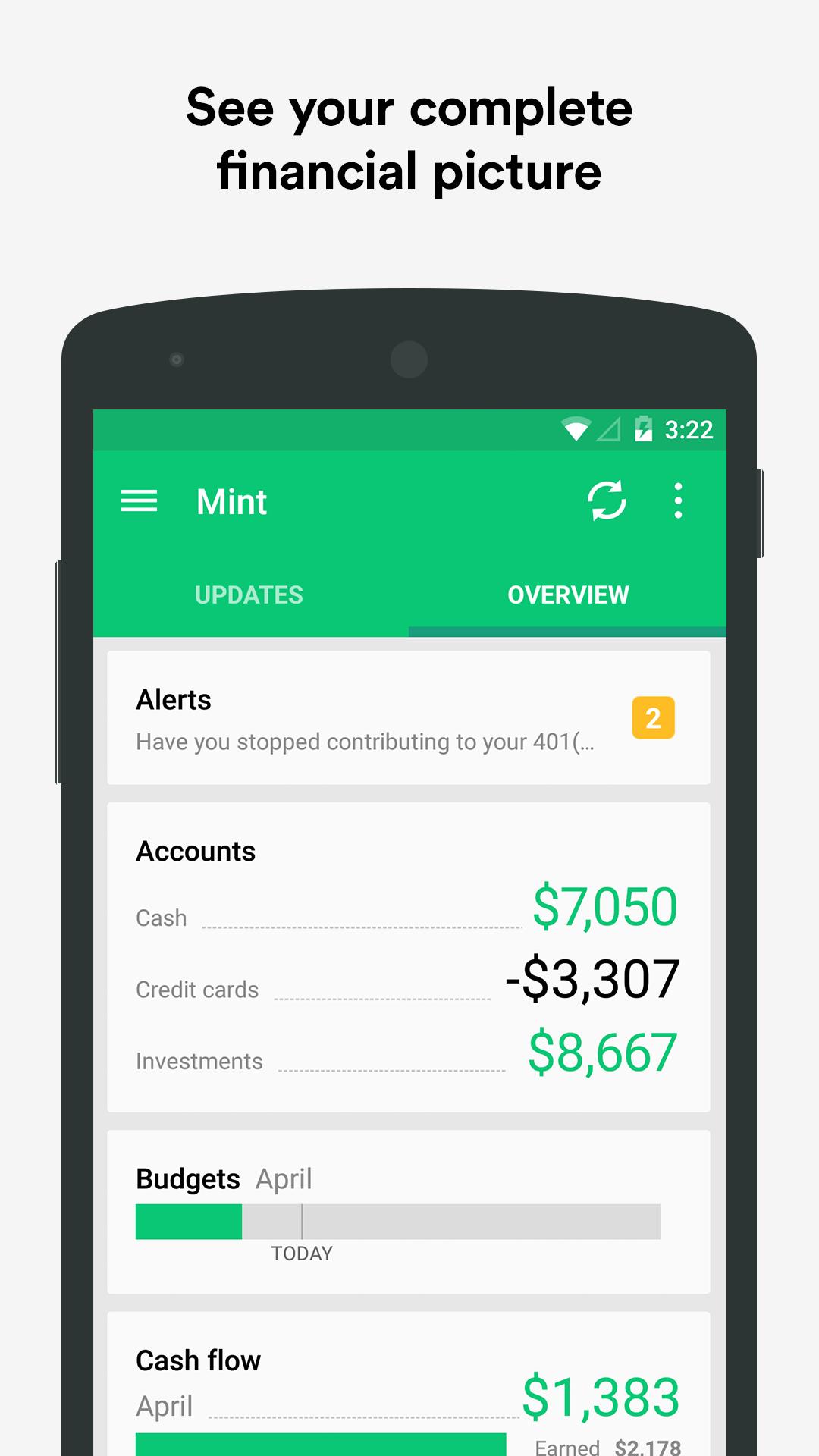 Mint: Personal Finance & Money screenshot #2
