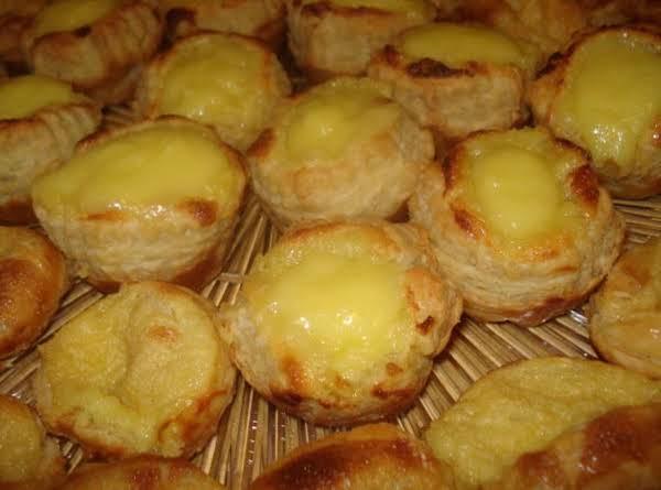 Portugese Custard Cream Tarts (pasteis De Nata) Recipe