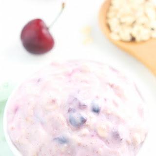 Cherry Pie Protein Overnight Oats