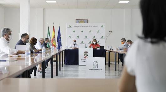 Celebración de la Comisión Provincial de Coordinación en Benitagla