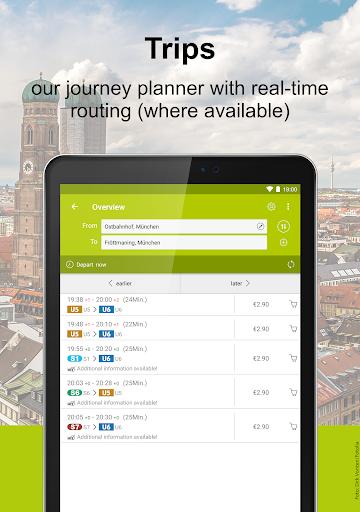 MVV-App – Munich Journey Planner & Mobile Tickets 5.34.13648 screenshots 10