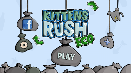 Kittens Rush Saving the world