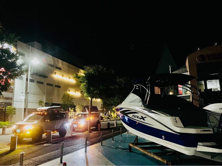 デリカD:5 CV5Wの横浜ベイサイドマリーナ,カスタムデリカ,プチナイト,マーカー映え,RHデリカに関するカスタム&メンテナンスの投稿画像6枚目
