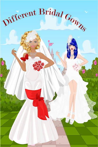 公主新娘化妆
