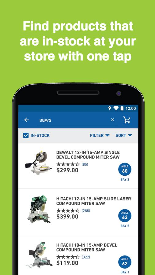Lowe's- screenshot