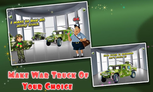 Build An Army Truck Fix It