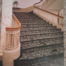 Photo: postcard of the Garden Stairs at the public library